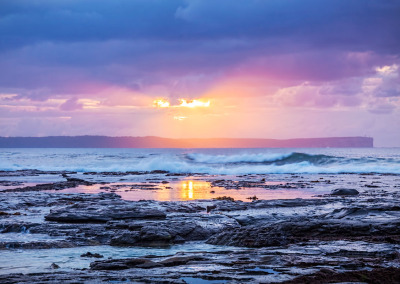 Breaking Through – Sunrise Jervis Bay Australia