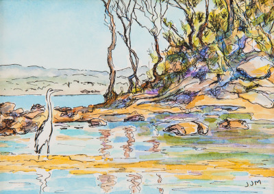 Egret – St Georges Basin NSW Australia