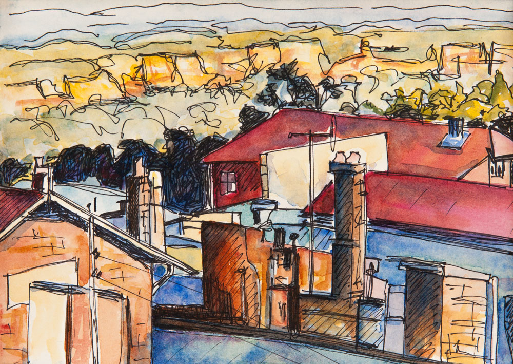 Katoomba - View from the Carrington Hotel