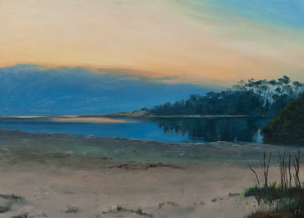 In the silence of Dawn - Moona Moona Creek Huskisson